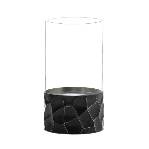 Gramercy Black Hurricane Candle Holder
