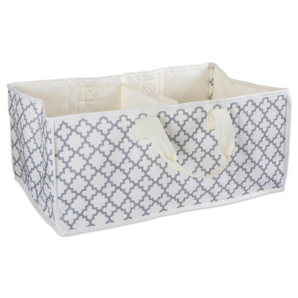 Storage Bin Lattice Gray Rectangle 21
