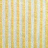 "Yellow Seersucker Tablecloth 60"" x 84"""