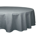 "Mineral Seersucker Tablecloth 70"" Round"