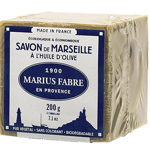 Savon De Marseille Soap 7.1 Oz 72% Olive Oil