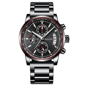 Men's Chronograph Waterproof Stainless Sport Watch