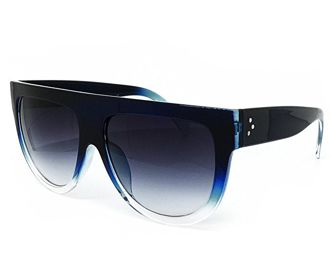 Unisex Shadow Flat Top Sunglasses