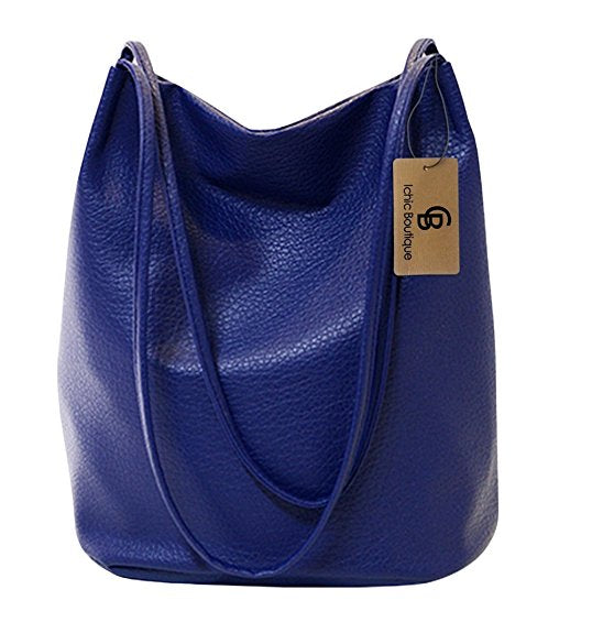 Fabulous Blue Bucket Bag
