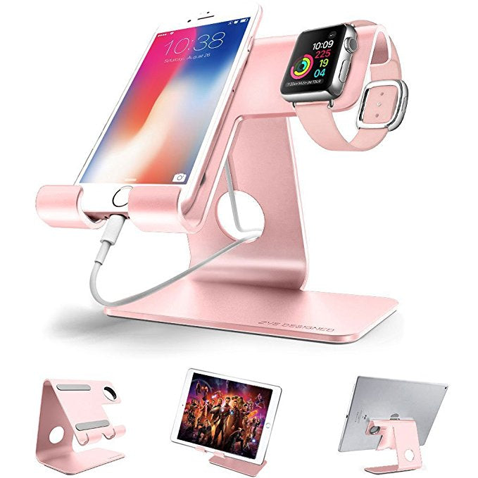Tabletop Cell Phone, Tablet & iWatch Charging Station
