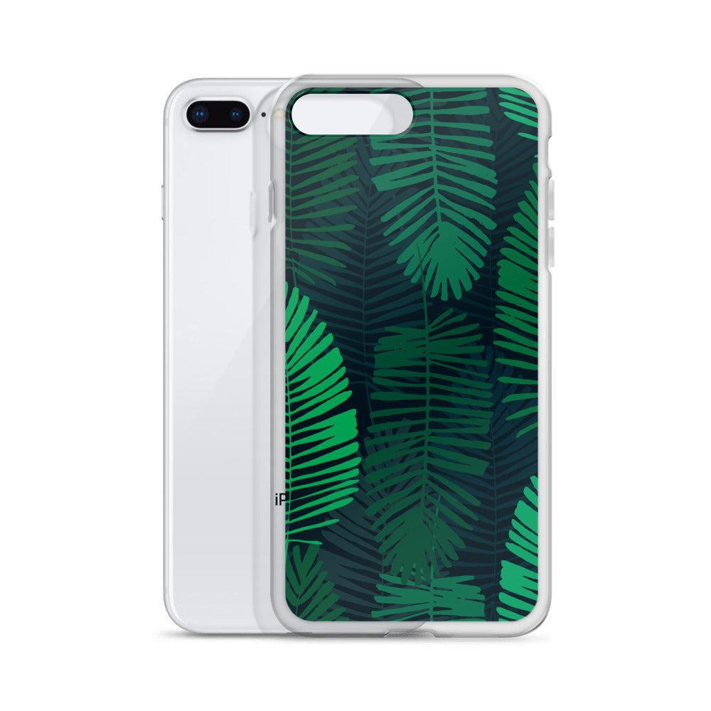 Jungle Leaves iPhone Cases All Sizes