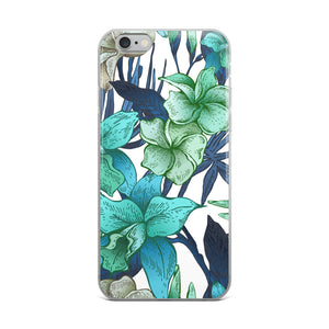 Blue Floral iPhone Cases In All Sizes!