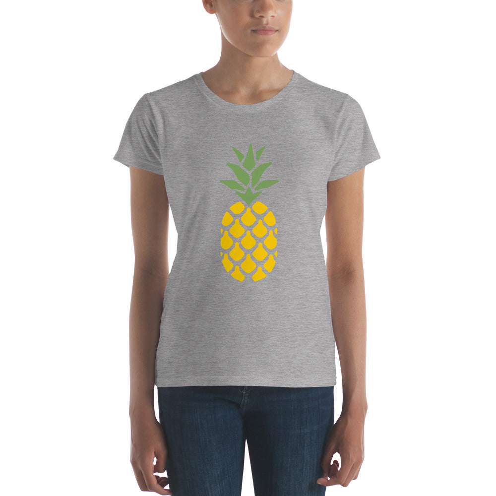 Women's Pineapple Short Sleeve Tee