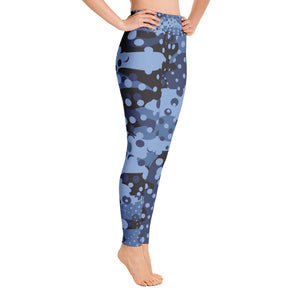 Dazzle Camo Yoga Leggings