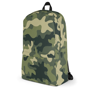 Green Camo Backpack!