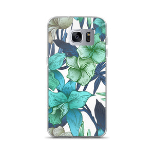 Blue Floral Samsung Cases In All Sizes!