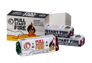 Pull Start Fire Firestarter 3-Pack