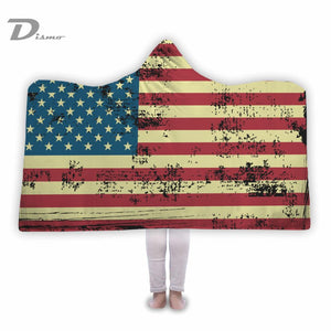 America Hooded Blanket
