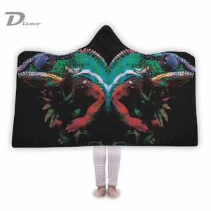 Chameleon Hooded Blanket