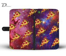 Space Pizza Wallet Case