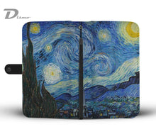 The Starry Night Wallet Case