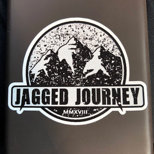 Jagged Journey Stickers