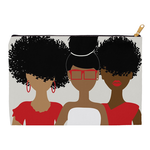 Curly Girl Trio (Red) Pouch