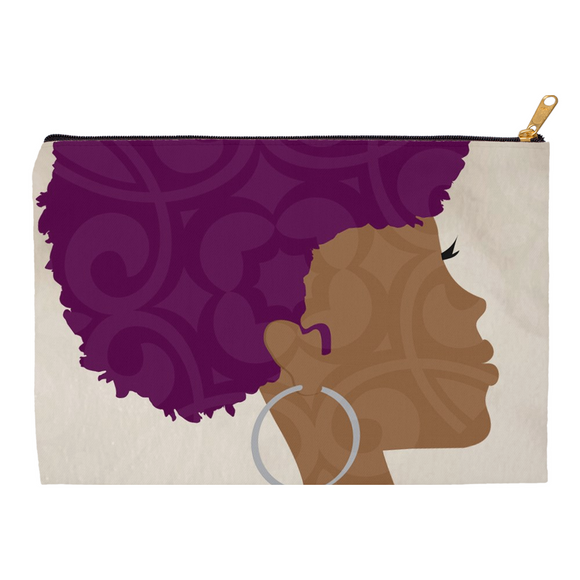 Royal Curls Pouch