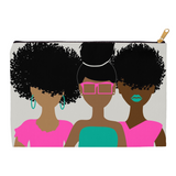 Curly Girl Trio (Pink) Pouch