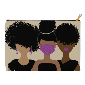 Curly Girl Trio Mask pouch
