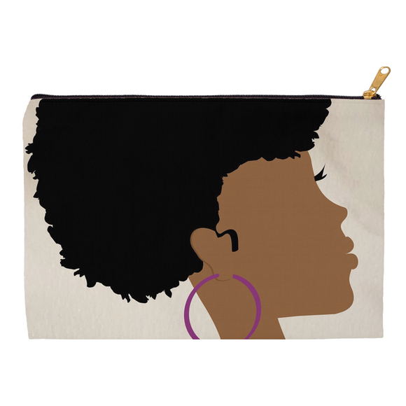 Side Curl {black} Pouch
