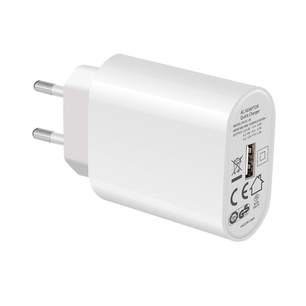 gs usb a qc 3.0 fast charger