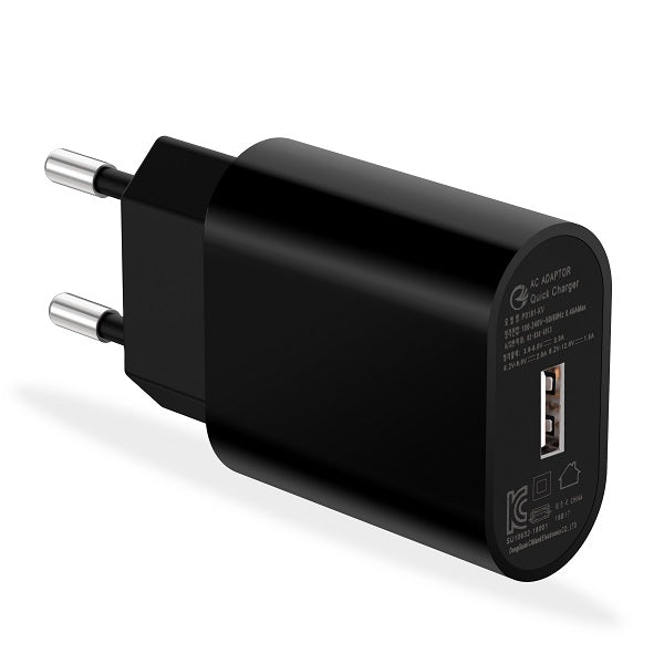 kc usb fast charger qc 3.0