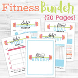 20-Page Fitness Binder 💪
