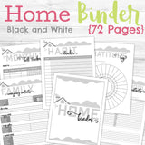 72-Page Household Binder 🏡