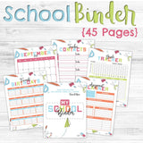 45-Page School Binder incl. School Year Calendar 🎓