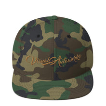 Camo with Tan Stitching