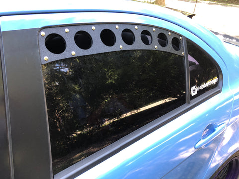 Mitsubishi Lancer Rear Window Vents (Evo X)