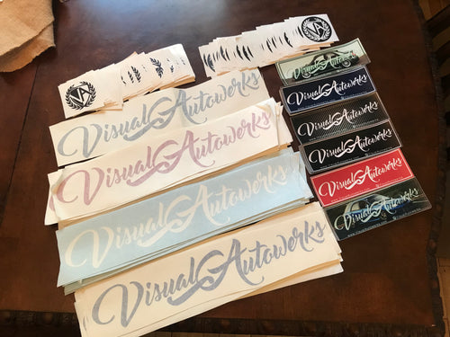 Visual Autowerks banners & stickers