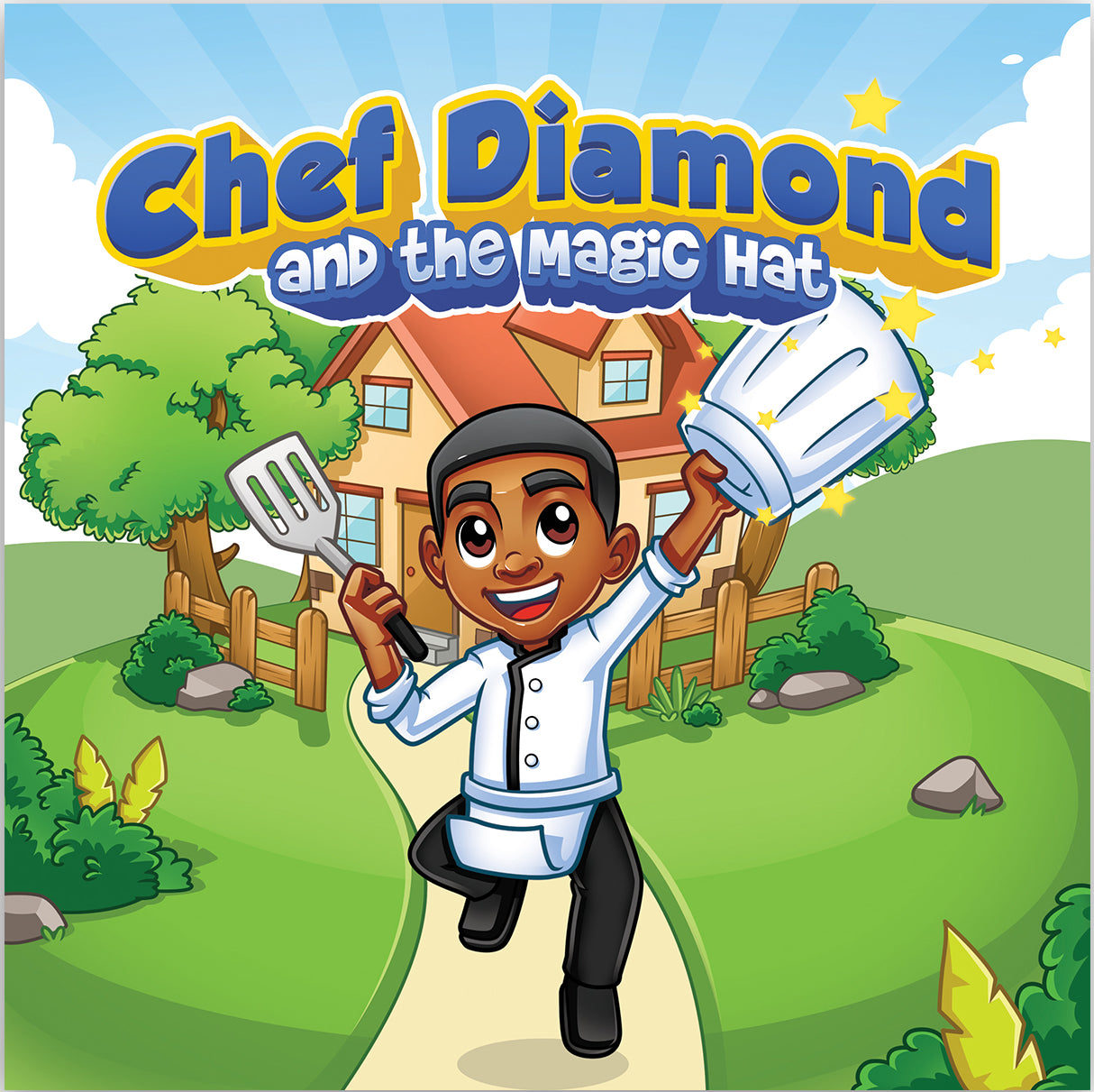 Chef Diamond and The Magic Hat - Storybook
