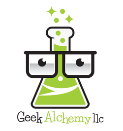 Geek Alchemy llc, logo