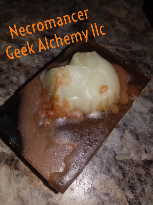 Necromancer melt and pour soap