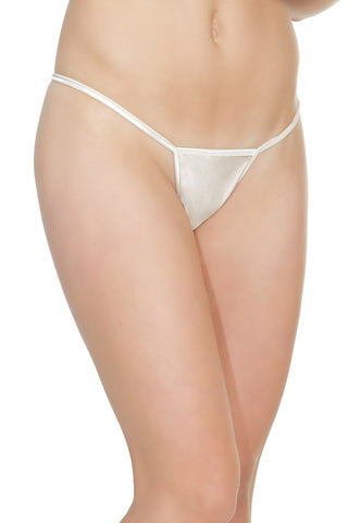 G-String White - Model Express Vancouver