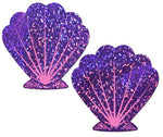 Purple Glitter and Pink Seashell Pastease
