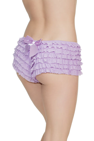 Ruffle Shorts Light Purple