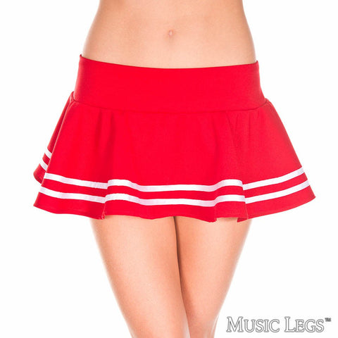 Mini Skirt - Red - Model Express Vancouver