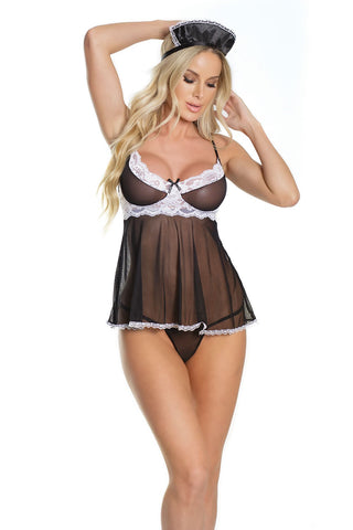 French Maid Baby Doll Set
