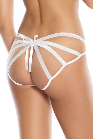 Caged Panty White