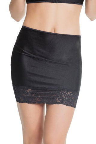 High Waisted Skirt Black