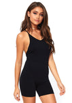 Cross Strap Unitard Black - Model Express Vancouver