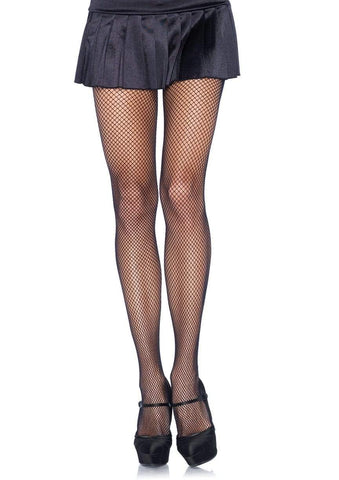Nylon Fishnet Pantyhose Black