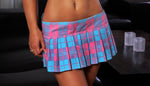 School Girl Skirt - Pink/Blue