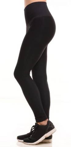 Compression Yoga Leggings Black