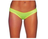 Scrunch Bottoms - Neon Yellow - Model Express Vancouver