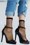 Fishnet Socks Black